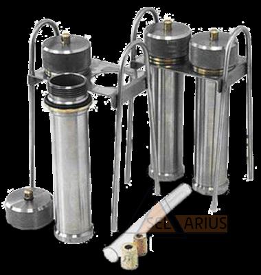 Комплект для испытаний коррозионной активности нефтепродуктов на медной пластинке по ГОСТ 6321-92 - фото