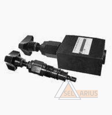 Фото клапана гидравлического переливного предохранительного трубного монтажа (комплект) DBD-H-6-K-315bar