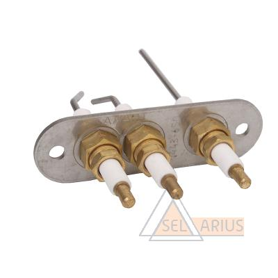 Блок электродов розжига и контроля пламени код 1443-650 - фото 1