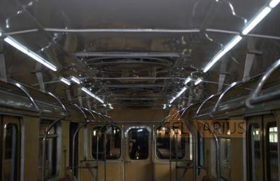 Светодиодное освещение салона вагона метрополитена серии 81-718/719 - фото 1