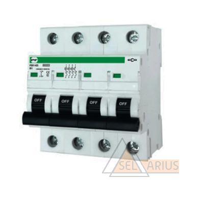 Модульный автоматический выключатель FB1-63 ECO 4P B13 - фото