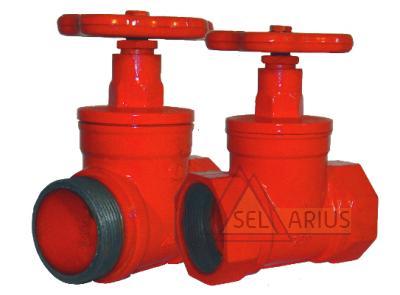 Клапаны пожарных кранов прямоточные КПК-50-1(180) КПК-50-2(180) фото 1