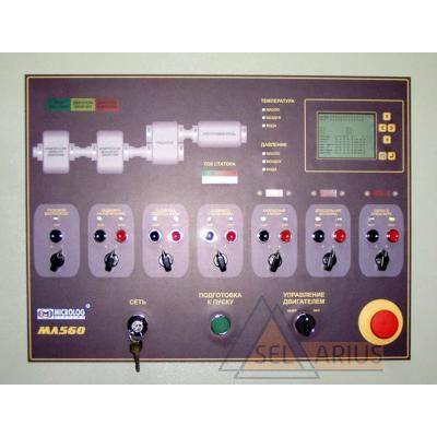 Система автоматического управления, контроля и регулирования для турбокомпрессоров большой мощности МЛ 560 - фото