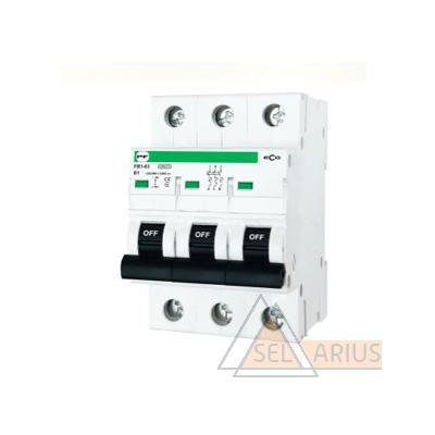 Модульный автоматический выключатель FB1-63 ECO 3P B3 - фото