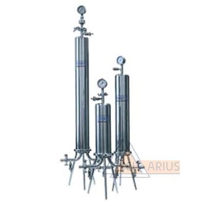 Однопатронные фильтродержатели для жидких сред - общий вид