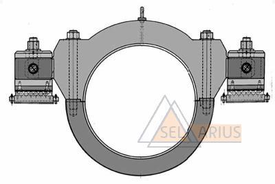Приспособление для маятниковой проверки роторов Т-2217 - фото