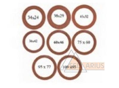 Прокладки уплотнительные биконитовые для муфтовых соединений фото 1