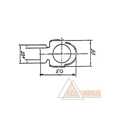 Профиль ПР-248 - габаритный чертеж