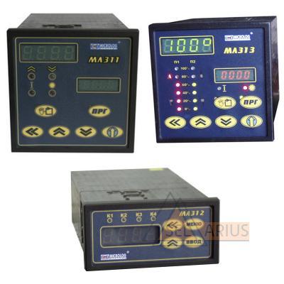 Регуляторы микропроцессорные МЛ 310 - фото