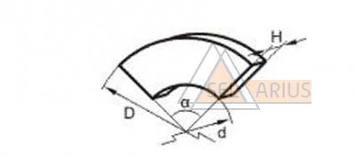 Сектор фрикционный  710-14-14(212-14-312) фото 1