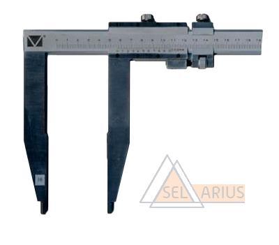 Штангенциркуль ШЦ-ІІІ с длиной губок 150 мм