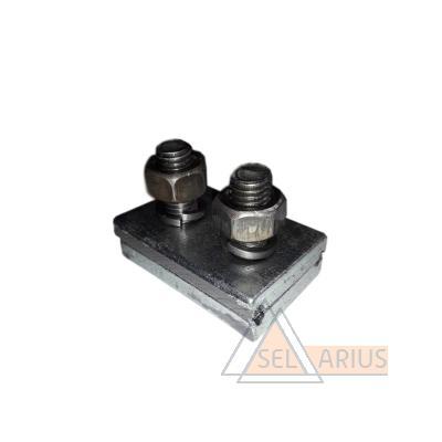 Зажим концевой контактного провода ЗТР-004 фото №1