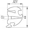 Уплотнитель лобового стекла для КТМ5-М3 фото 1